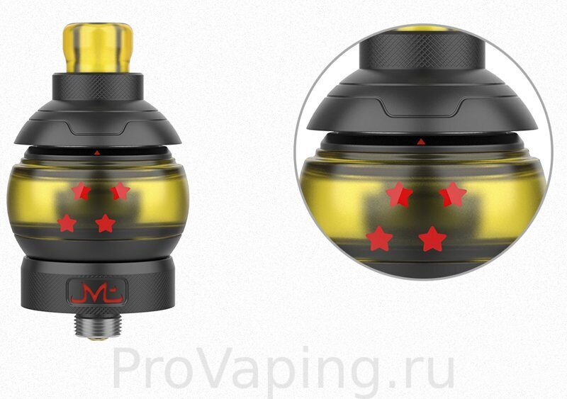 Fumytech & Swoke GOBALL mini MTL tank Collector Pack2