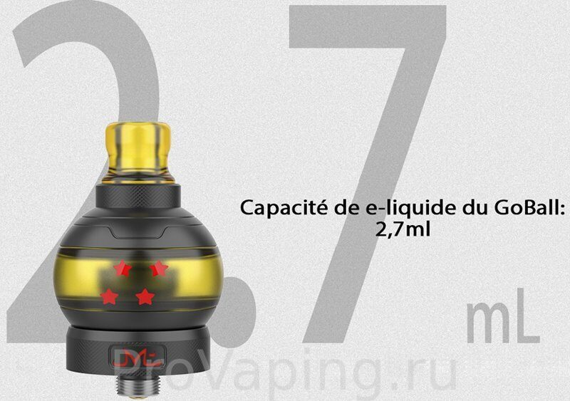 Fumytech & Swoke GOBALL mini MTL tank Collector Pack4