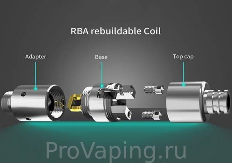 Hellvape Grimm POD System Replacement RBA и AVCT 510 Adapter for Aegis Boost1