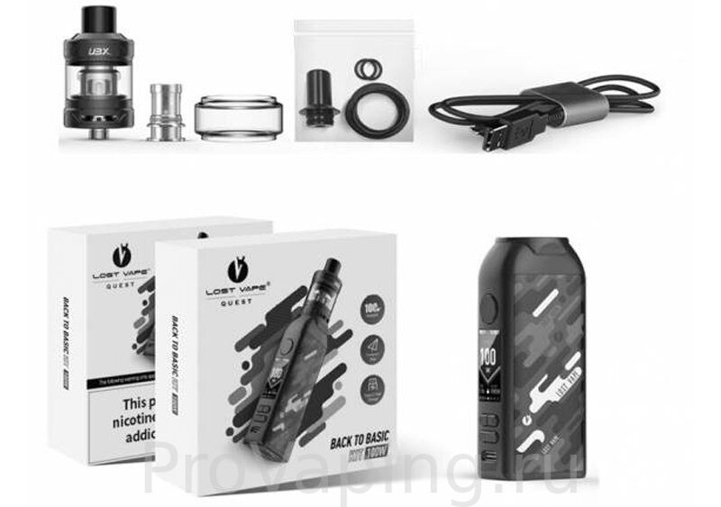 Lost Vape BTB 100W starter kit3