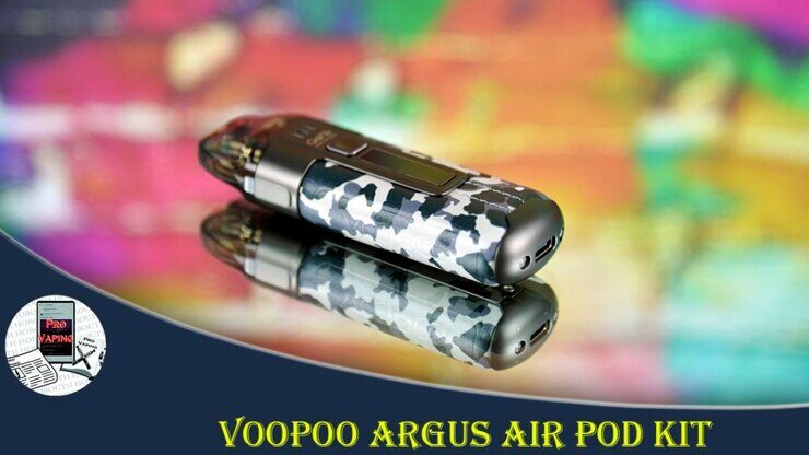 Обзор Voopoo ARGUS AIR POD kit - Очередной хит! | Thanks Sourcemore.com