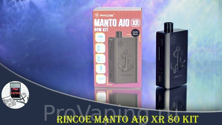 Обзор Rincoe Manto AIO XR 80 Kit