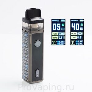authentic-voopoo-vinci-40w-1500mah-vw-mod-pod-system-starter-kit-peacock-540w-55ml-standard-edition
