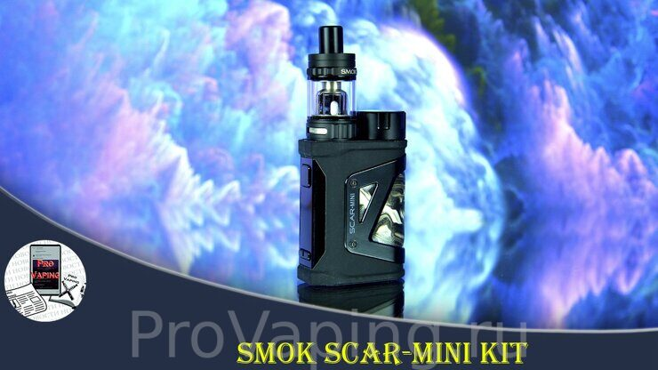 Scar-mini kit из страны Оз | Thanks Smoktech.com