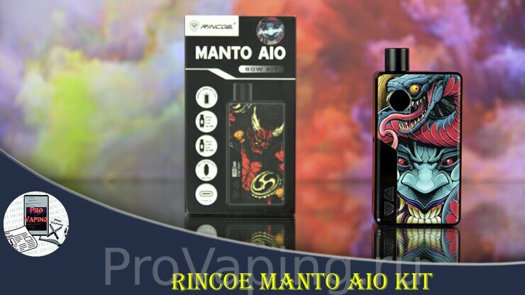 Обзор Rincoe Manto AIO 80w kit