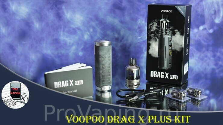 Voopoo Drag X plus Kit | Thanks Sourcemore